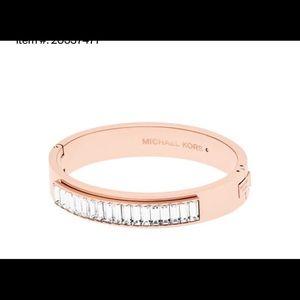 Michael Kors  Rose gold bangle bracelet new